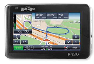 GPS2GO P430: פשוט ונוח
