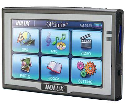 Holux GPSmile 55: טעינה נוחה