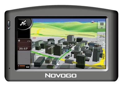Novogo X800: ניווט נוח וטוב