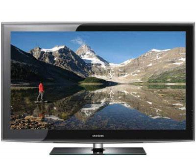Samsung LA52B610 : מצטיין בשחור