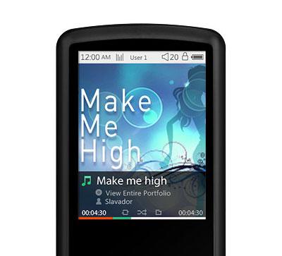iAudio i9 : קטן, דק ורב תכונות