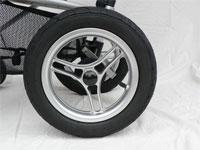 גלגלי אוויר תורמים ל נסיעה חלקה יותר במהמורות ובדרכים משובשות