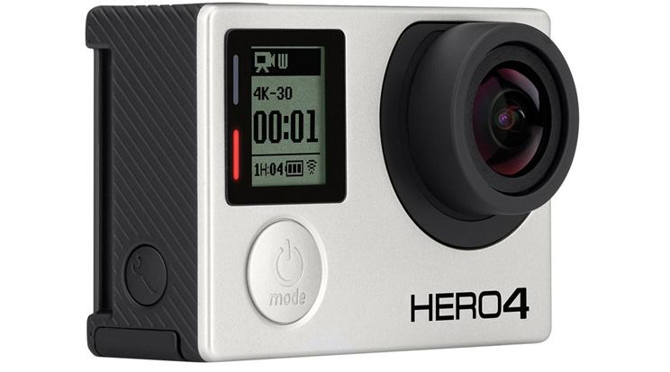 מצלמת אקסטרים GoPro HERO4 Black Edition