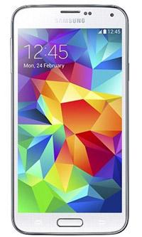 samsung galaxy s5. מסך בעל צבעים תוססים ורוויים במיוחד