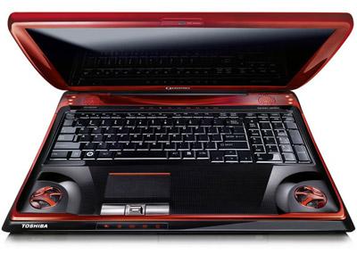פנטסטי Toshiba Qosmio X300: נייד לגיימרים סקירה מקצועית - WiseBuy IY-37