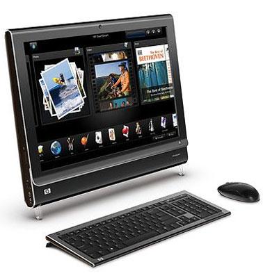 HP TouchSmart: מהנה ואטרקטיבי