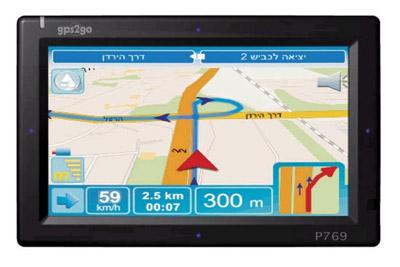 GPS2GO P769: פוטנציאל שלא מומש