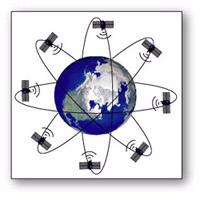 מקלט ה-gps קולט את אותות הלוויינים ומאתר על פיהם את מיקומו של המכשיר