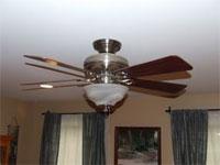 """""""על מנת שמאוורר התקרה יספק רמת אוורור ניאותה, יש להתחשב בגובה התקרה"""""""