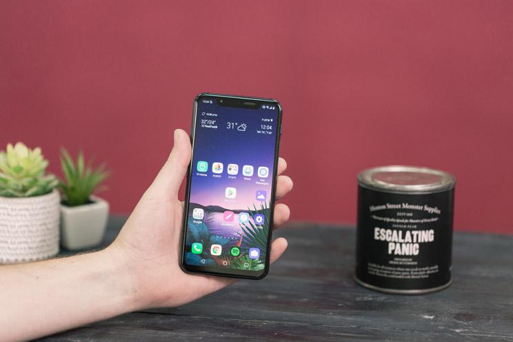 LG G8s: משתפר, אבל לא מספיק