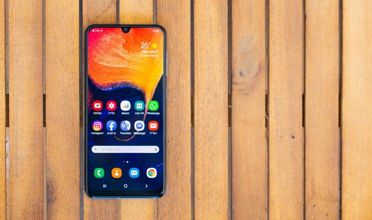 טלפון סלולרי Samsung Galaxy A50 SM-A505F 128GB 4GB RAM