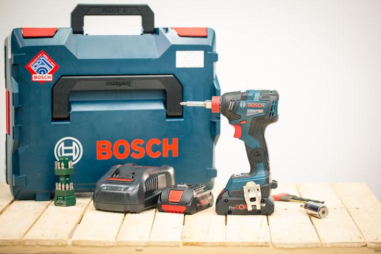 Bosch GDX 18V-200 C: מאתיים ניוטון למטר אומר הכל