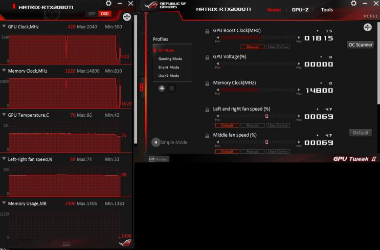 Asus GeForce RTX 2080 Ti ROG-MATRIX-RTX2080TI-P11G-GAMING