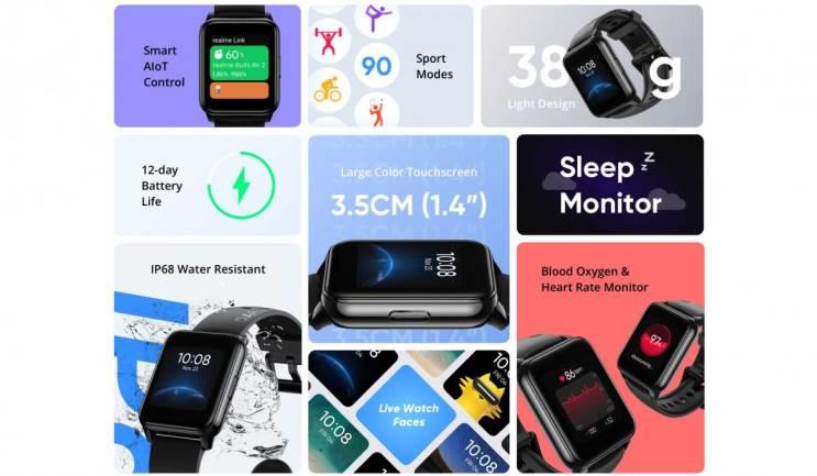 רילמי מציגה את השעון החכם Realme Watch 2