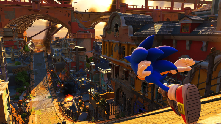 Sonic Forces: כיף טהור