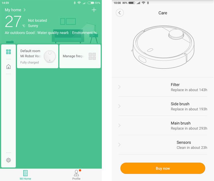 שואב אבק Xiaomi Mi Robot Vacuum