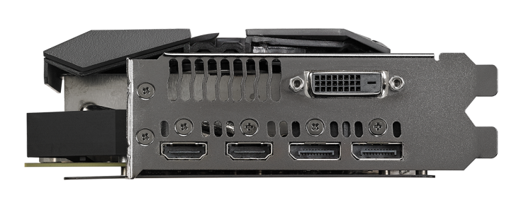 Asus ROG Strix RX VEGA56 OC edition 8GB with Aura Sync RGB ROG-STRIX-RXVEGA56-O8G-GAM
