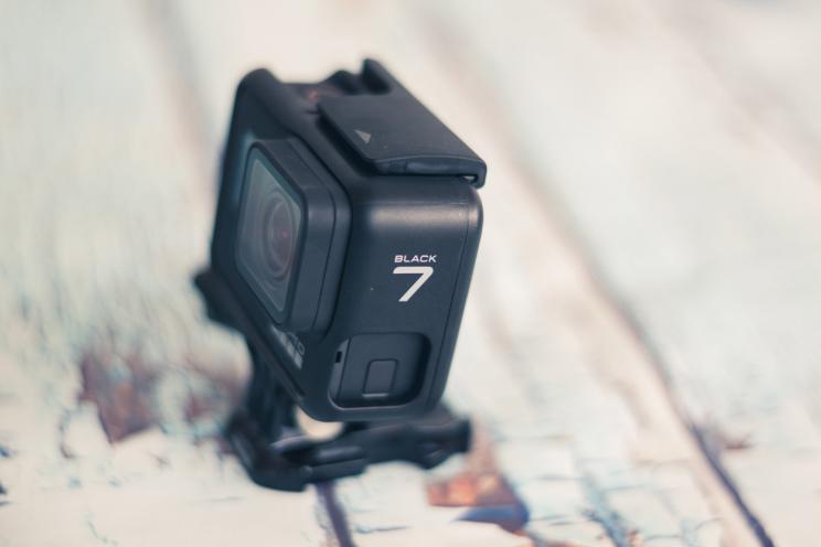 GoPro Hero 7 Black: אין צורך בגימבל
