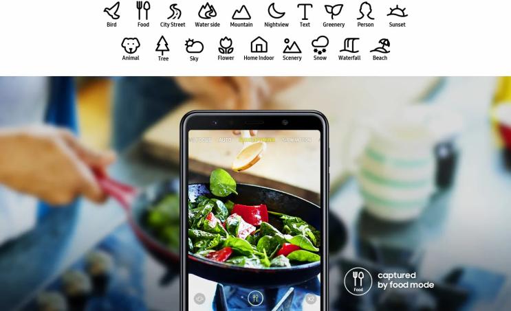 טלפון סלולרי Samsung Galaxy A7 (2018) SM-A750F 128GB 4GB