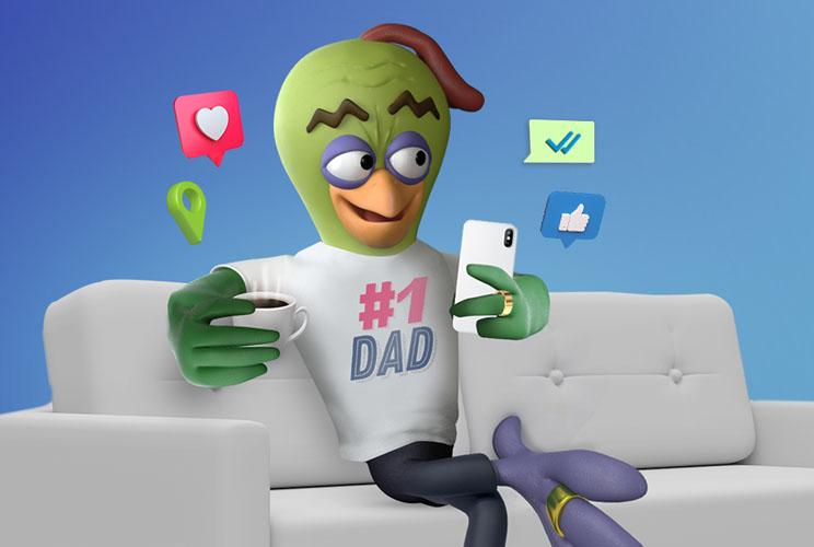 """בזק בינ""""ל משיקה אפליקציה להגנה על ילדים ברשת"""