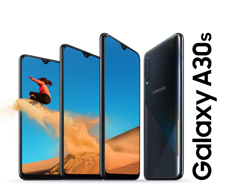 עכשיו בישראל: Samsung Galaxy A10s ו-Galaxy A30s