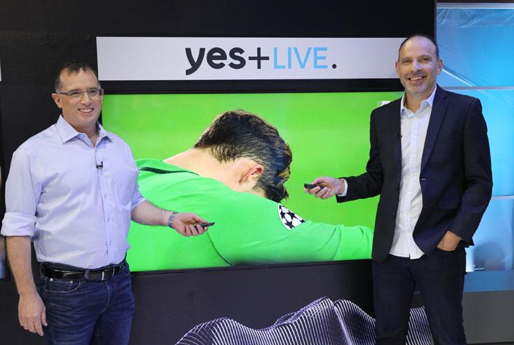 Yes+ Live מבטלת את הדיליי