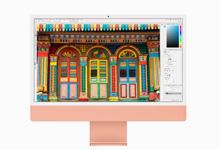 אפל מכריזה על ה-iMac 24 עם עיצוב חדש ומעבד Apple M1