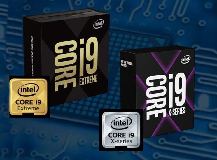 אינטל מרעננת את משפחת ה-X של מעבדי Core i9