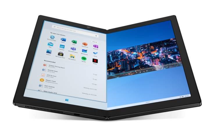 המחשב הנייד המתקפל הראשון ThinkPad X1 Fold זמין לרכישה
