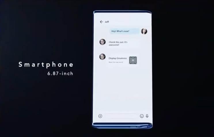 TCL מציגה סמארטפון עם מסך נגלל ומתקפל