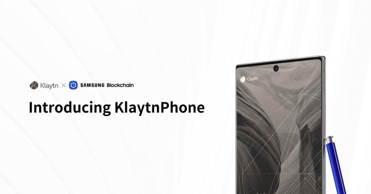 הוכרז: KlaytnPhone - סמארטפון הבלוקצ'יין הראשון של סמסונג