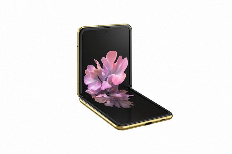 סמסונג מציגה את המכשיר המתקפל Galaxy Z Flip