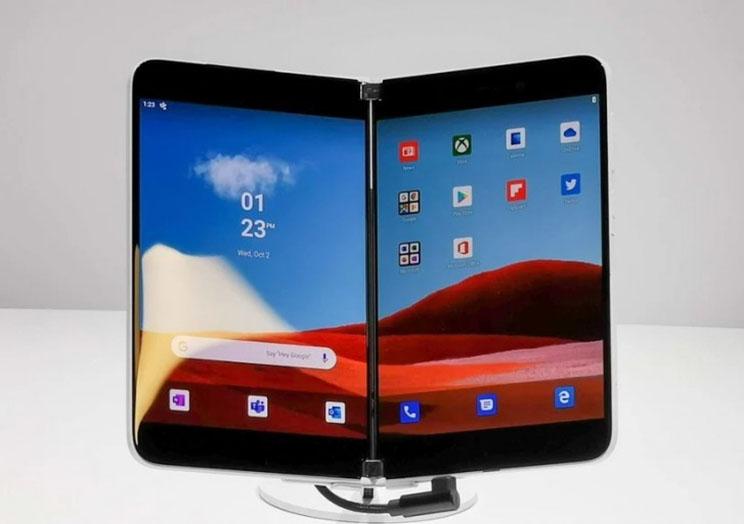 נחשף המפרט של ה-Surface Duo