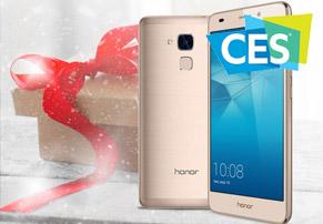 חדשות CES: סיני עם כבוד - הושק Honor 6X
