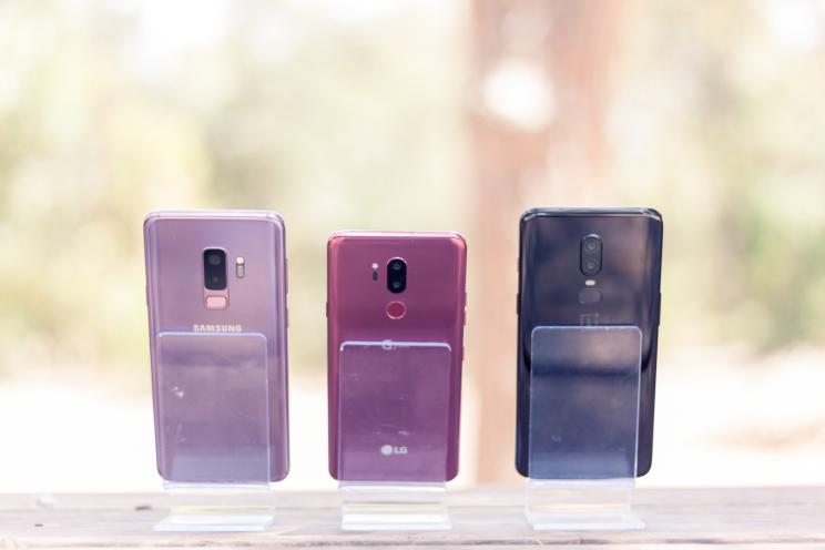 מבחן השוואתי -  Galaxy S9 Plus | LG G7 | One Plus 6