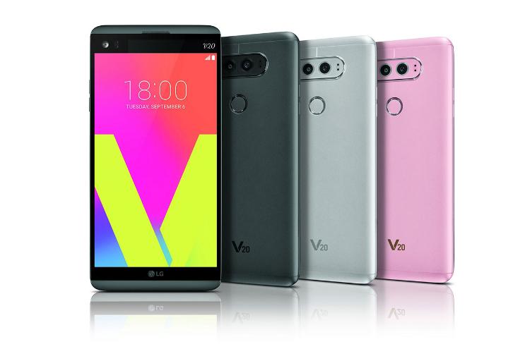 LG משיקה את ה-V20 בישראל