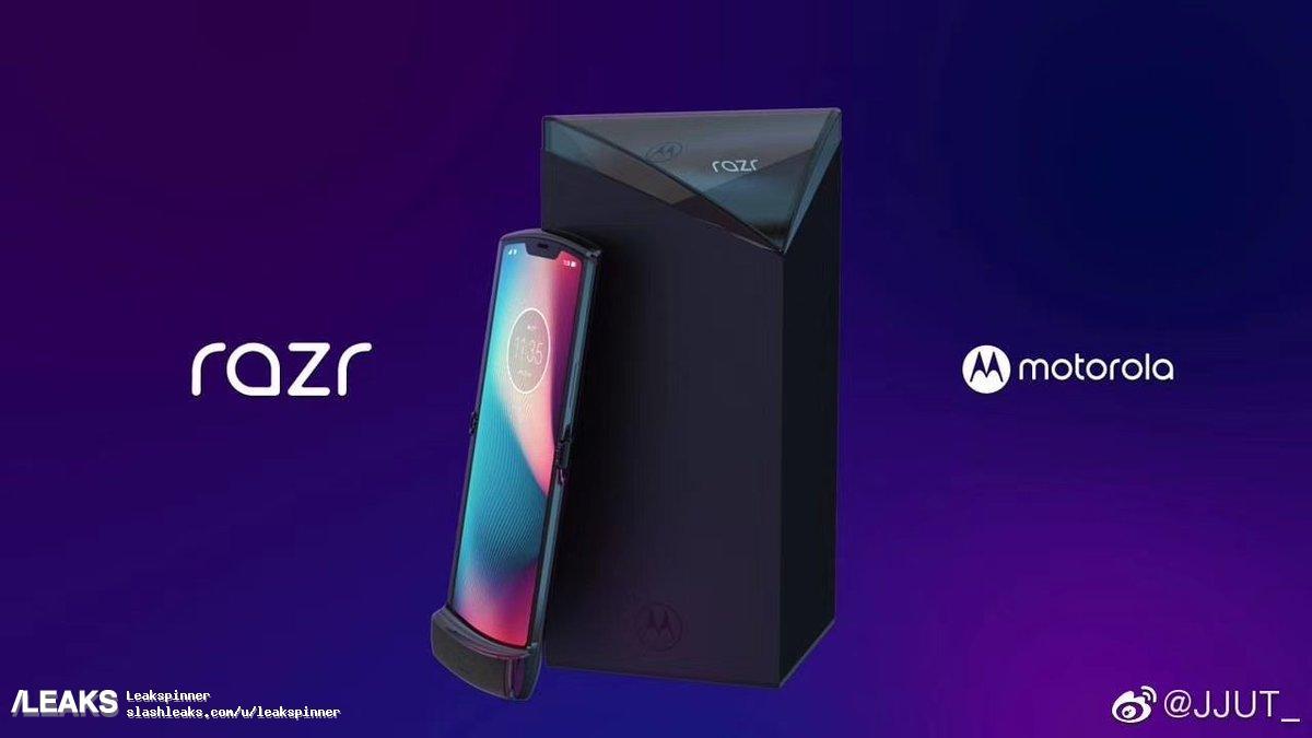 מוטורולה תכריז על הסמארטפון המתקפל Razr 2019 ב-13 בנובמבר