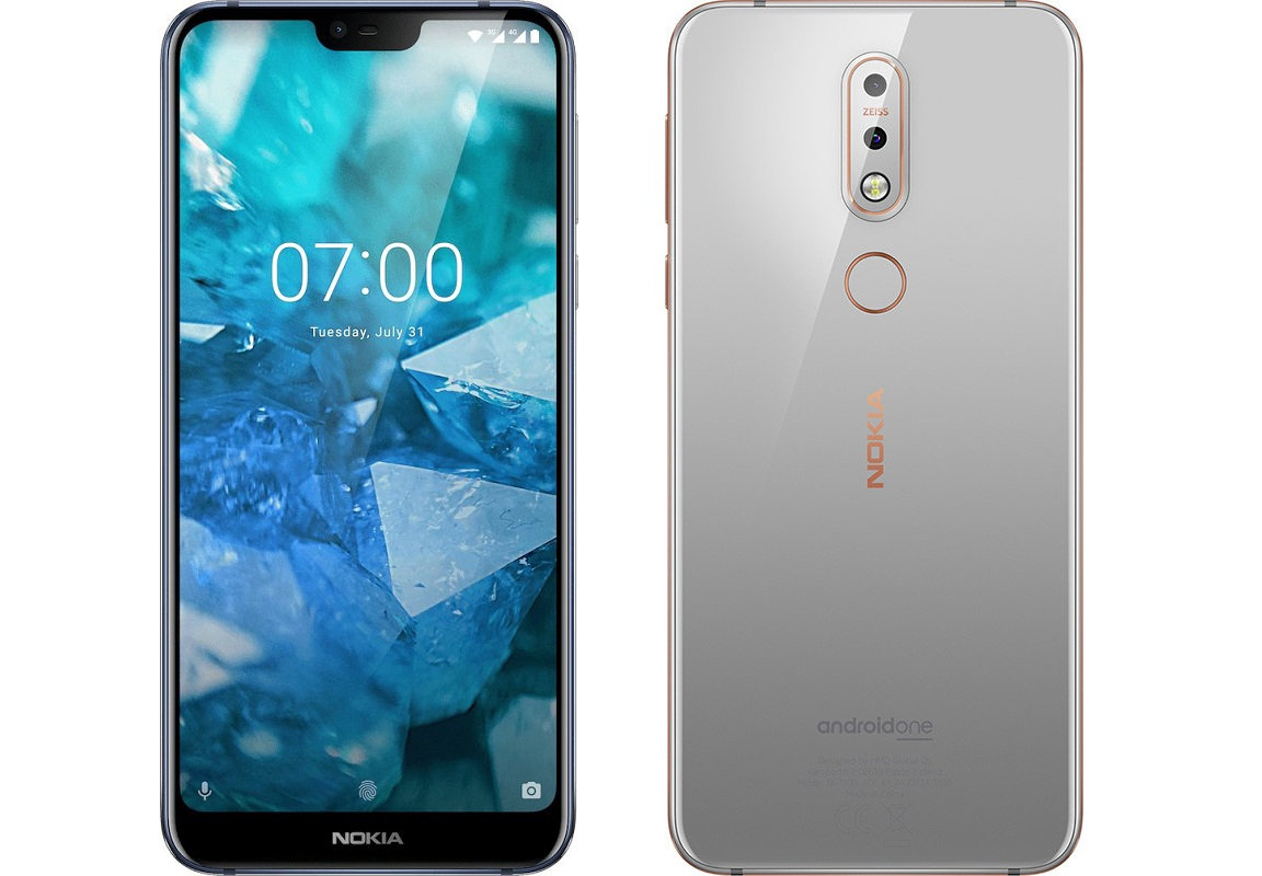 טלפון סלולרי Nokia 7.1 64GB