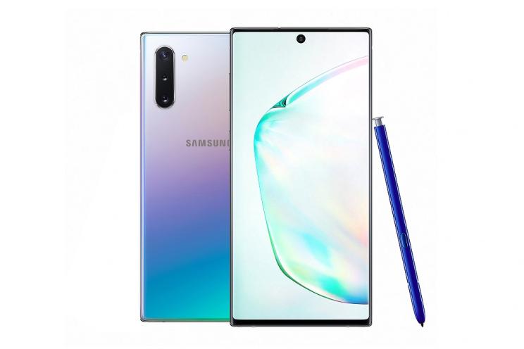 סמסונג חושפת את ה-Galaxy Note 10 ו-Galaxy Note 10 Plus