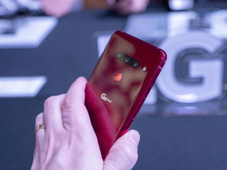 LG G8 ThinQ - עיצוב מוכר ומפרט עדכני