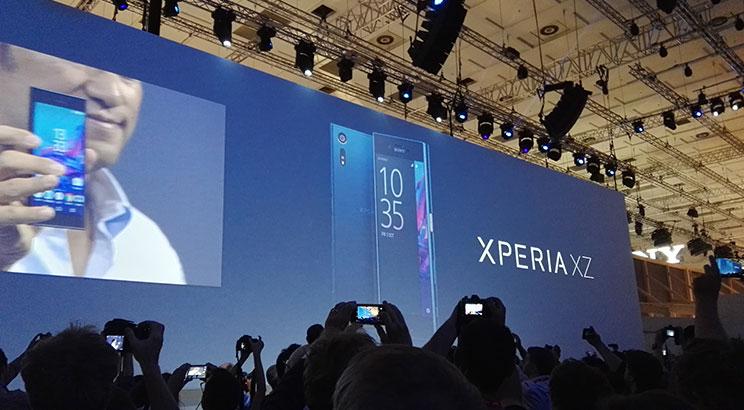 סוני משיקה את Xperia XZ בתערוכת IFA