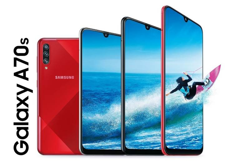 הוכרז: Samsung Galaxy A70s - מערך הצילום משתדרג