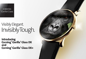 הוכרזה: זכוכית Gorilla Glass DX/DX Plus עבור מחשוב לביש