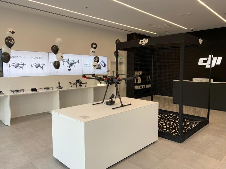 DJI פתחה חנות מותג רשמית בישראל
