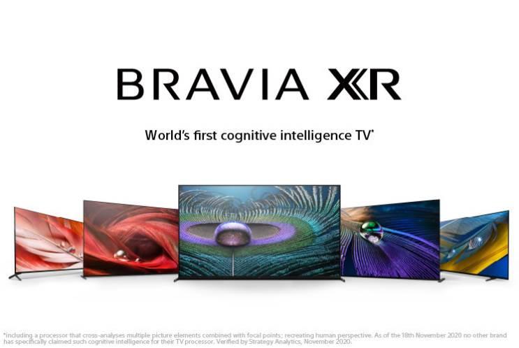 Sony מכריזה על סדרת טלוויזיות Bravia XR לשנת 2021