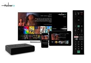 Next TV ו-Partner TV מגיעים לטלוויזיות החכמות של LG