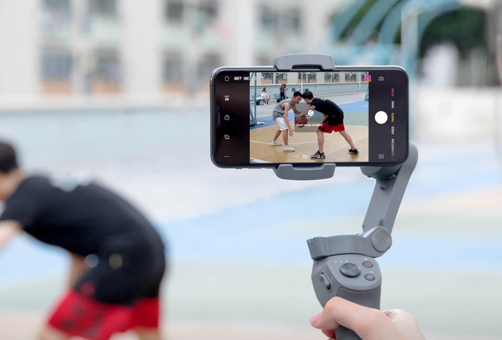 DJI משיקה בישראל את הגימבל המתקפל Osmo Mobile 3