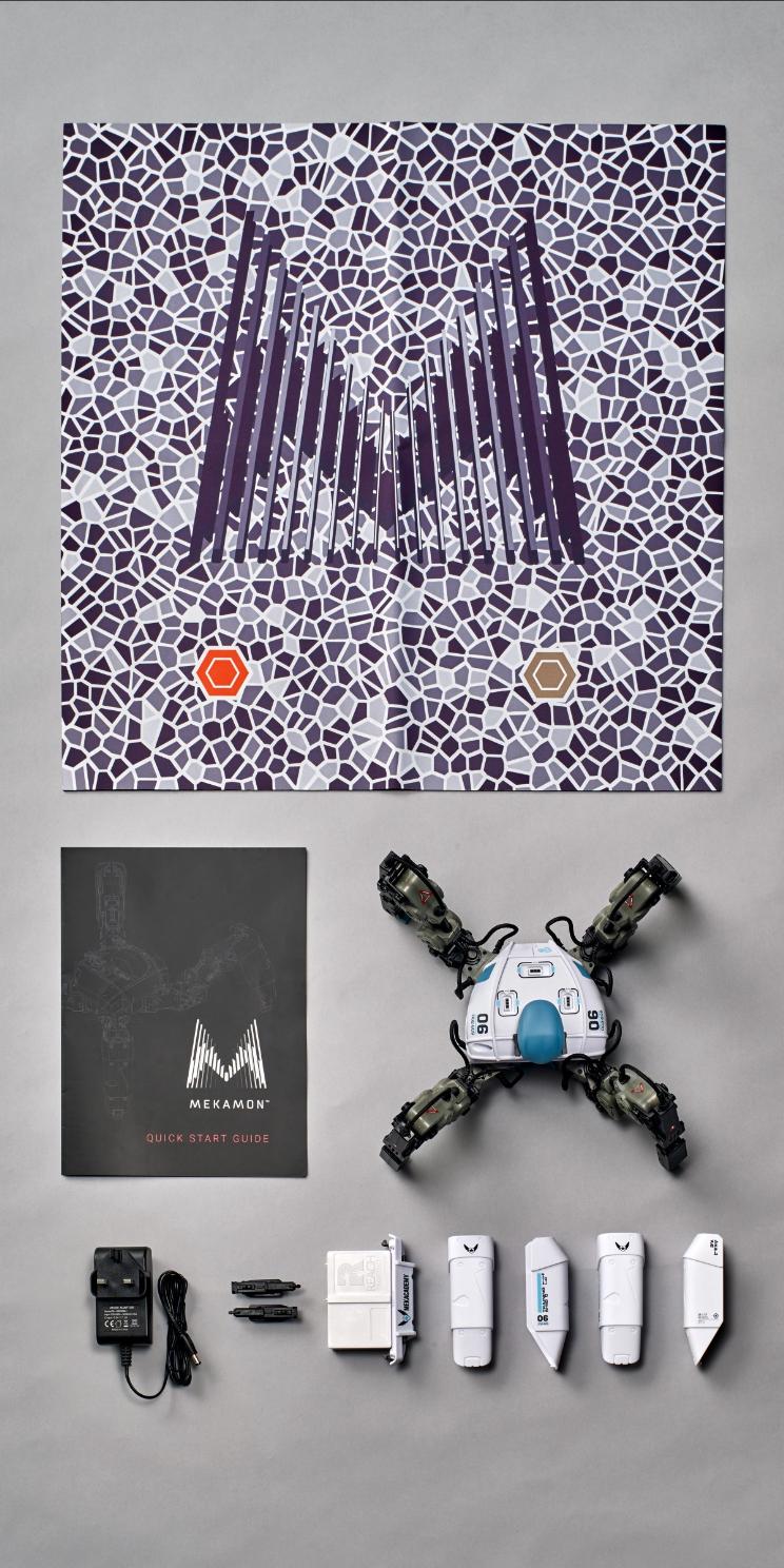 Mekamon רובוט עכביש במציאות רבודה