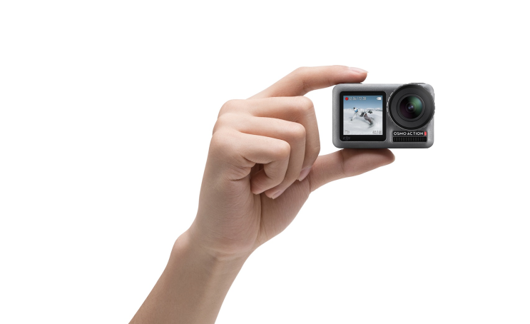 DJI חושפת את מצלמת האקסטרים Osmo Action