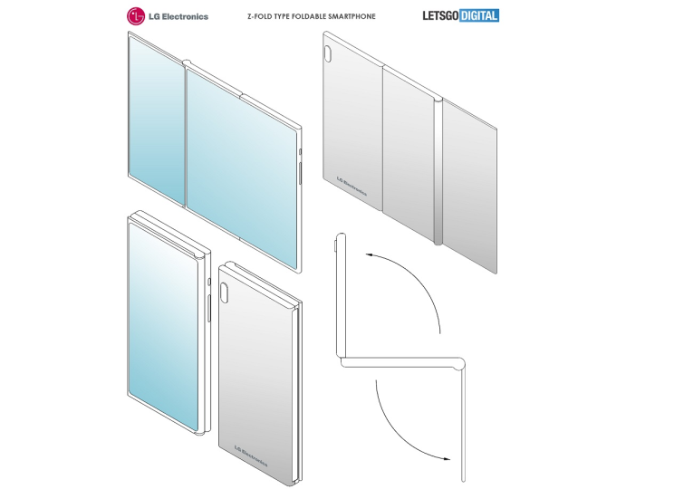 פטנט חדש מבית LG מציג סמארטפון מתקפל ללא מחברים